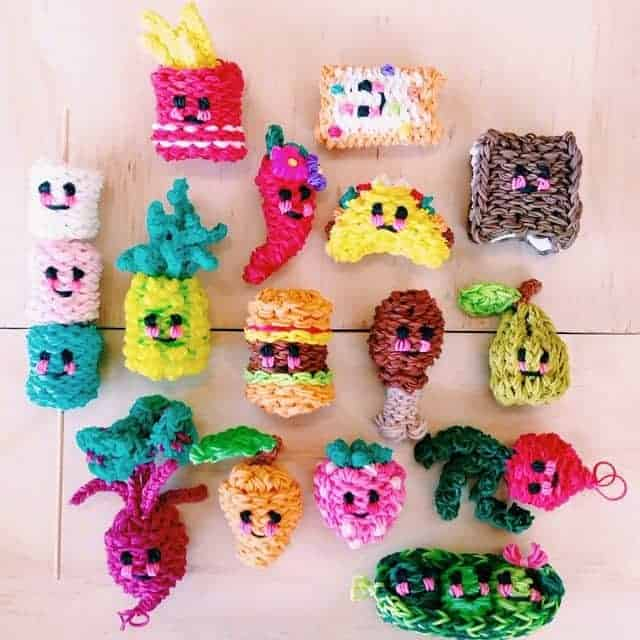 How to Make Rainbow Loom Charms – 48 Easiest & Best Charms